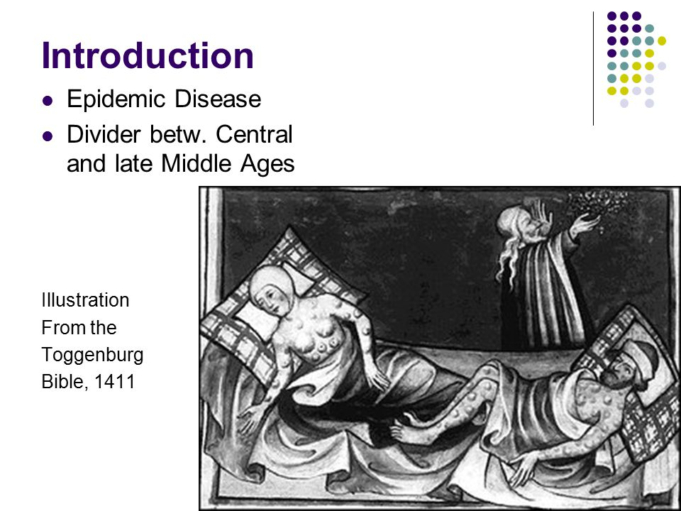 Introduction Epidemic Disease