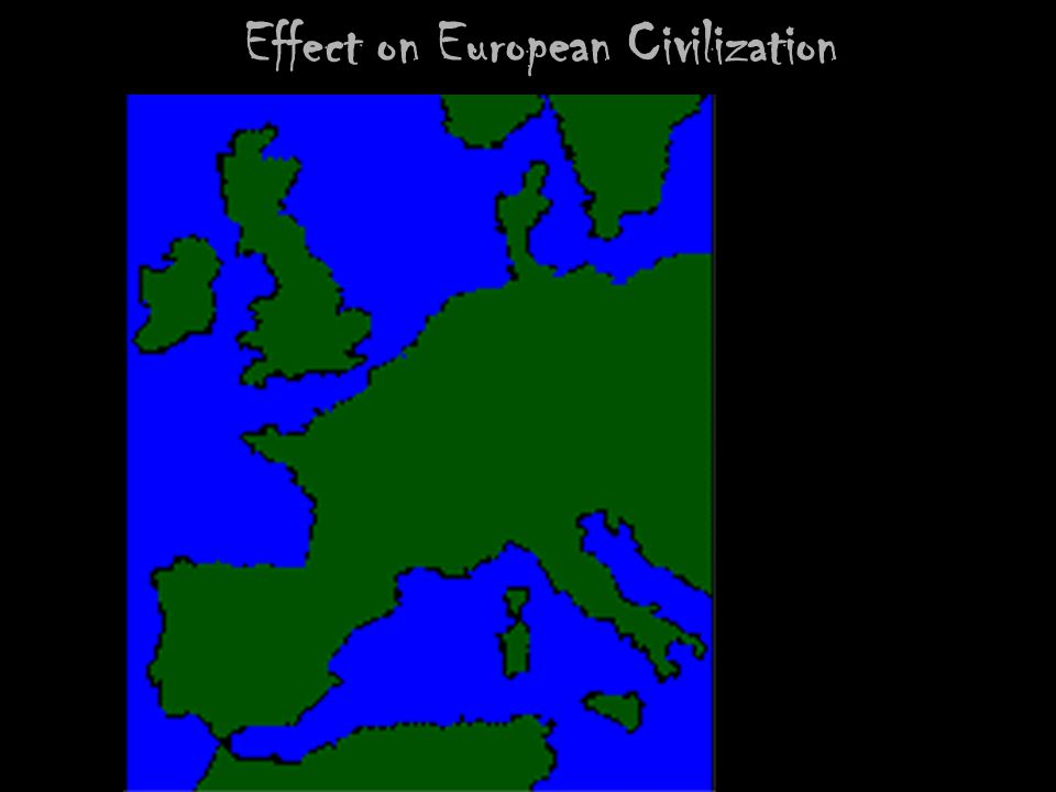 Effect on European Civilization