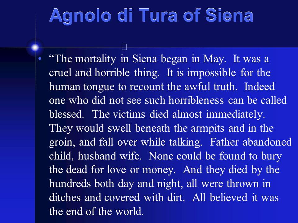 Agnolo di Tura of Siena