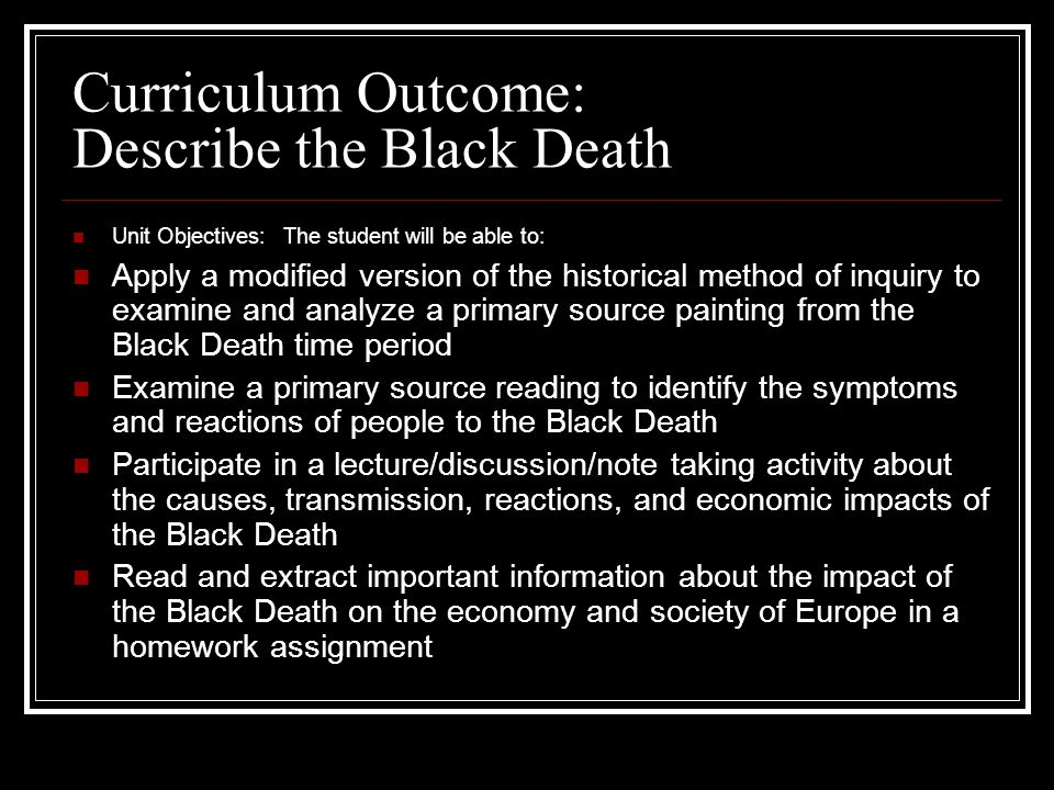 the black death impact on society The effects of the black death on the economic and social life of europe the black death is the name later given to the epidemic of plague that ravaged europe between 1347 and 1351.