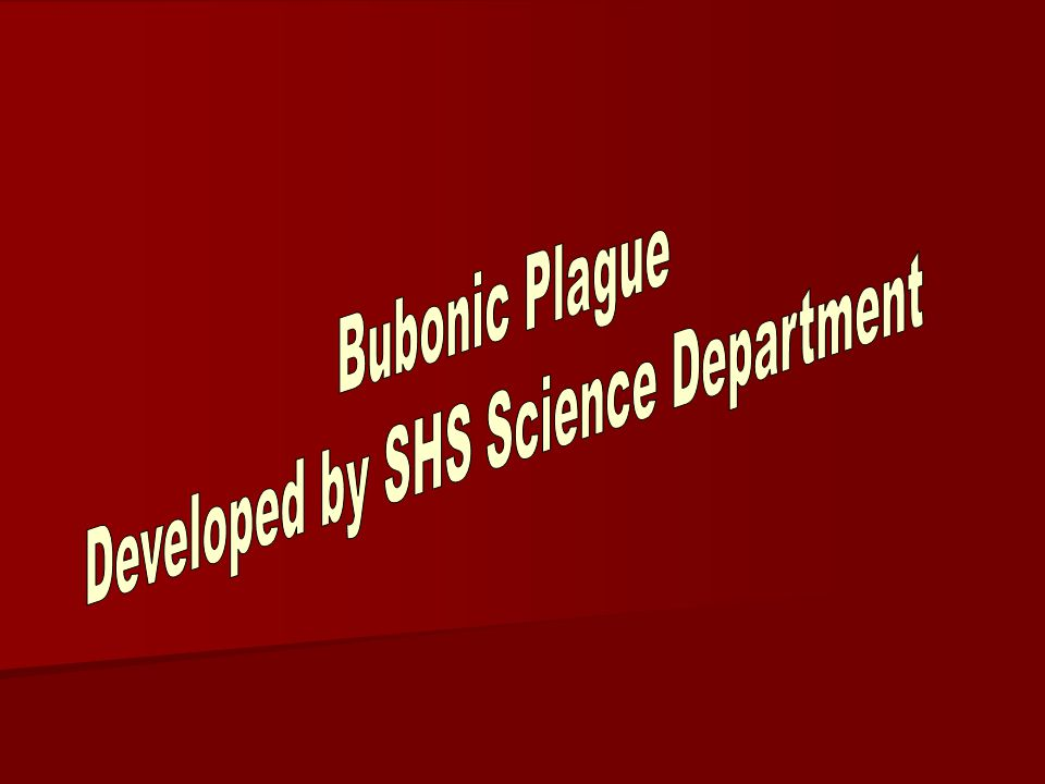 Developed by SHS Science Department