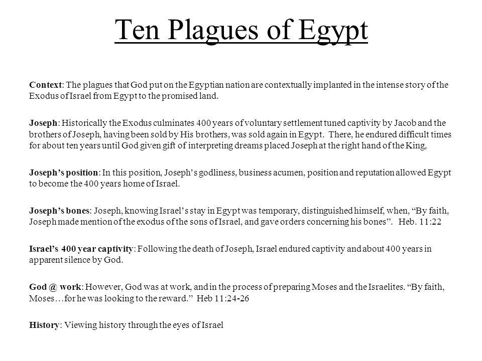 Ten Plagues of Egypt