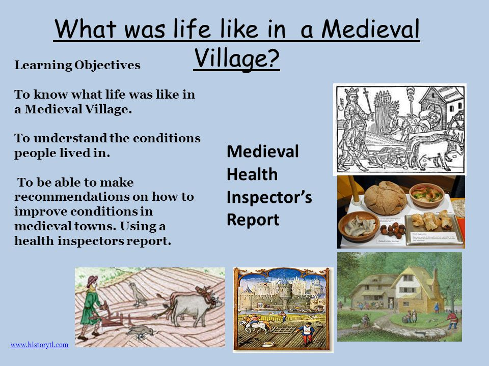What was life like in a Medieval Village
