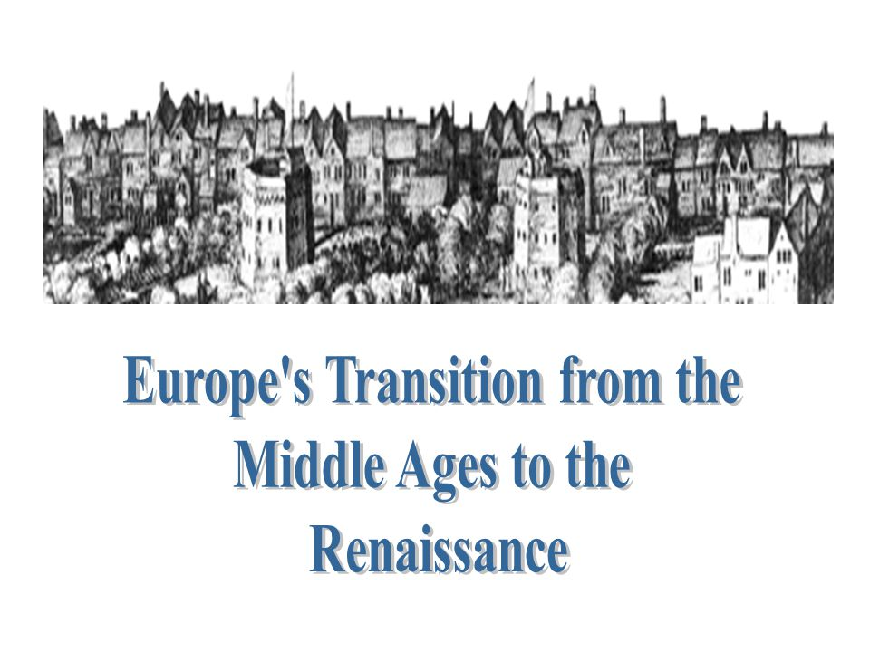 Europe s Transition from the