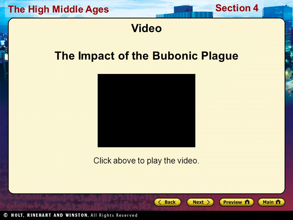 Video The Impact of the Bubonic Plague