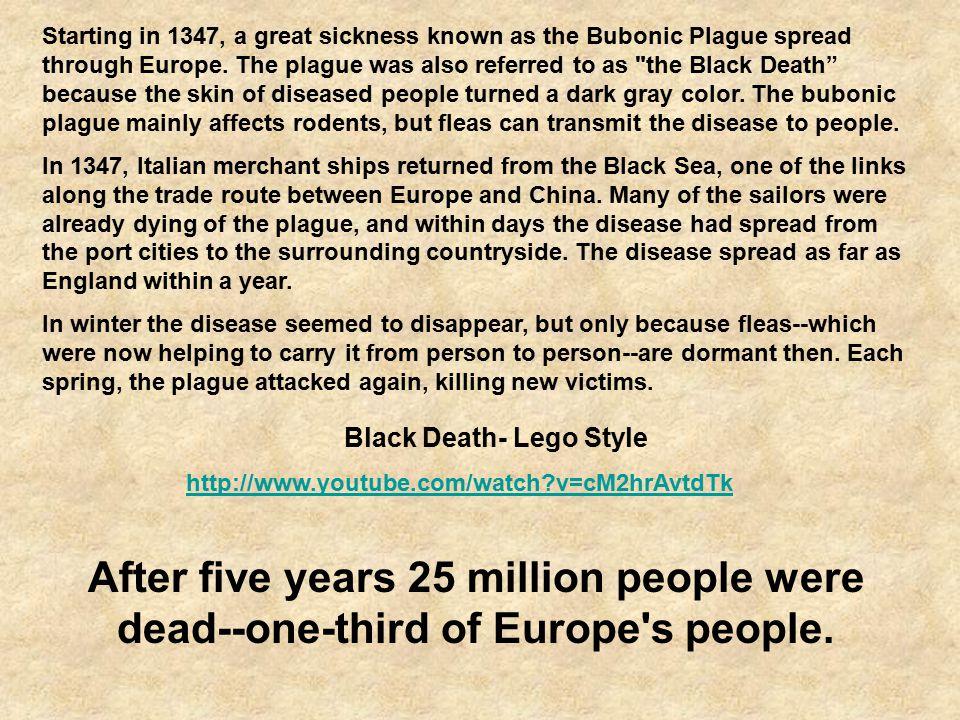 Black Death- Lego Style
