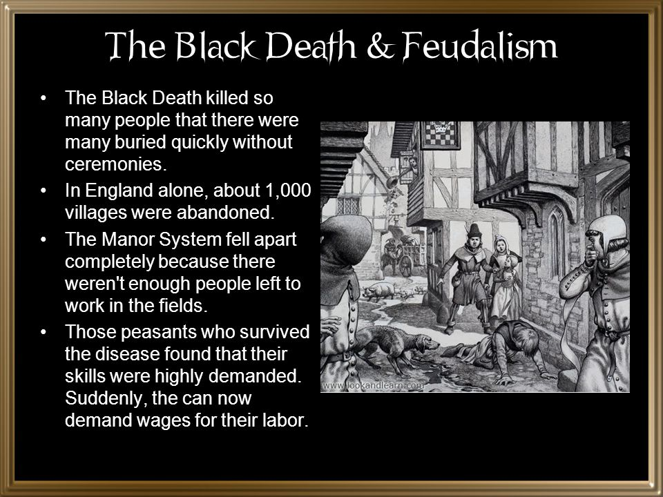 The Black Death & Feudalism