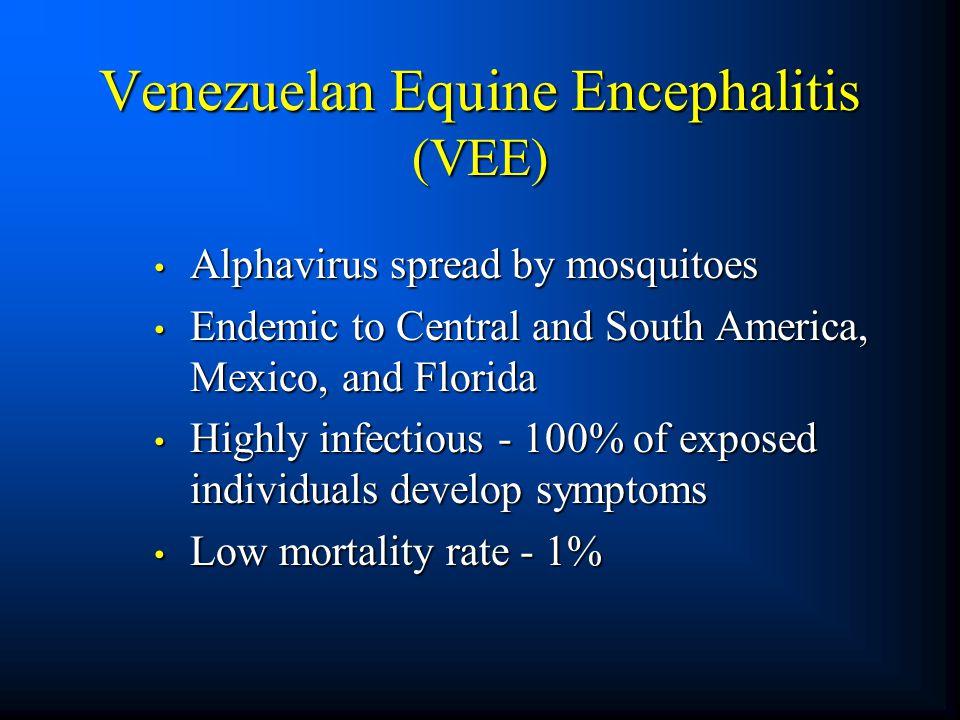 Venezuelan Equine Encephalitis (VEE)