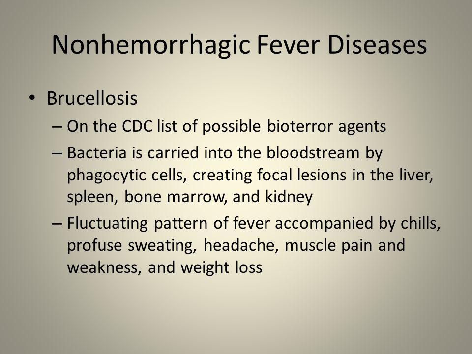Nonhemorrhagic Fever Diseases