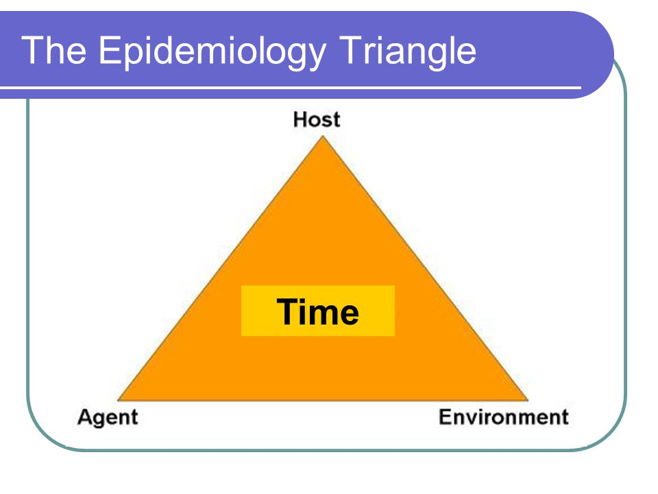 The Epidemiology Triangle