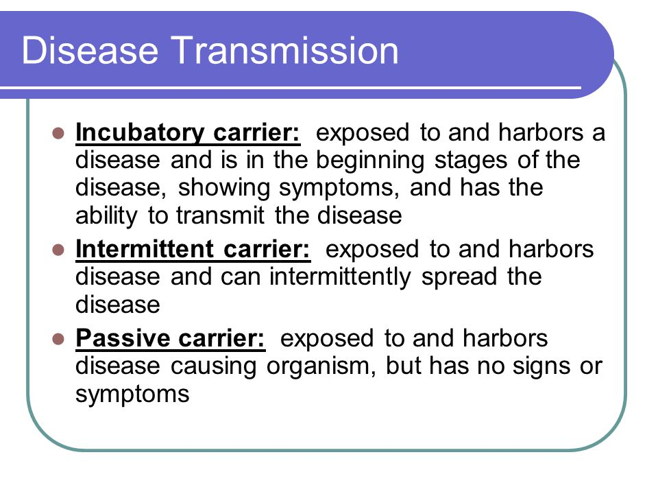 Disease Transmission