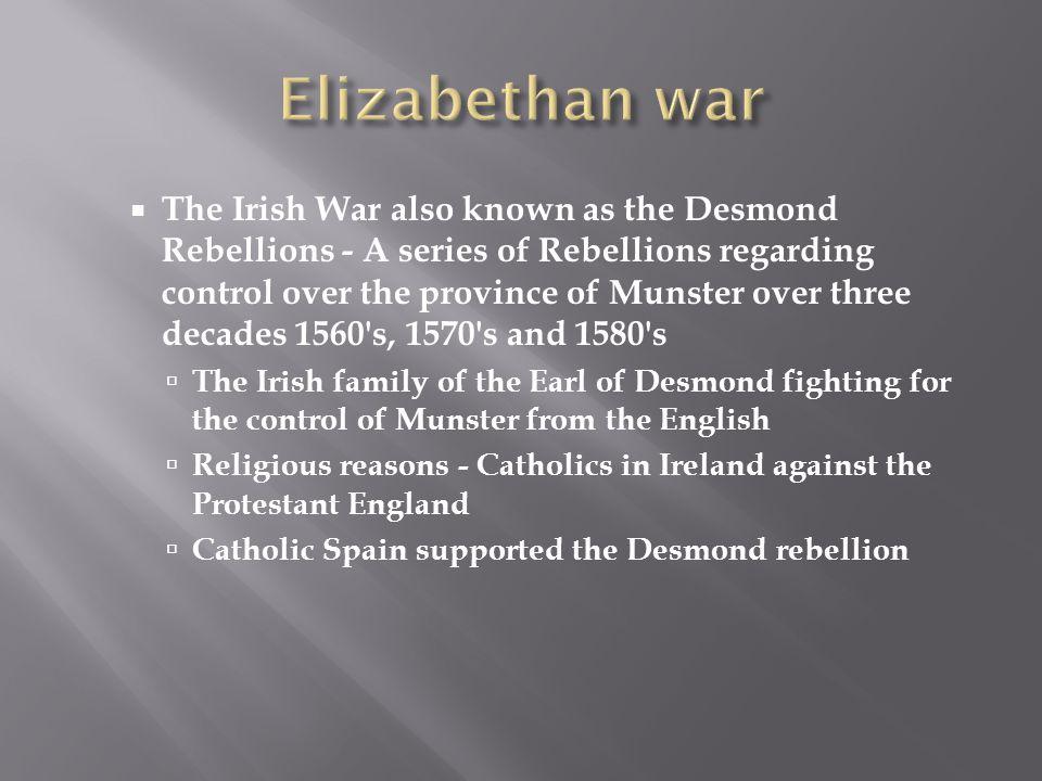 Elizabethan war