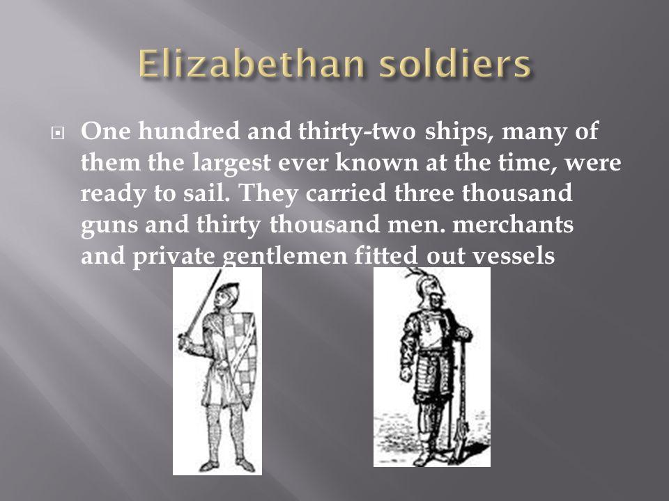 Elizabethan soldiers