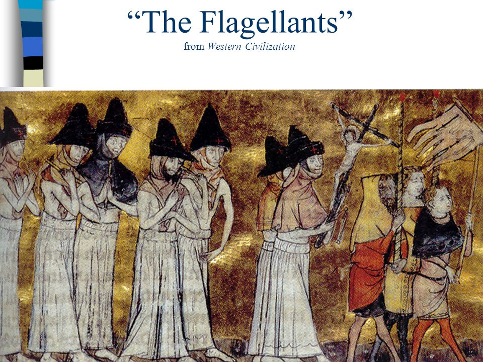 The Flagellants from Western Civilization