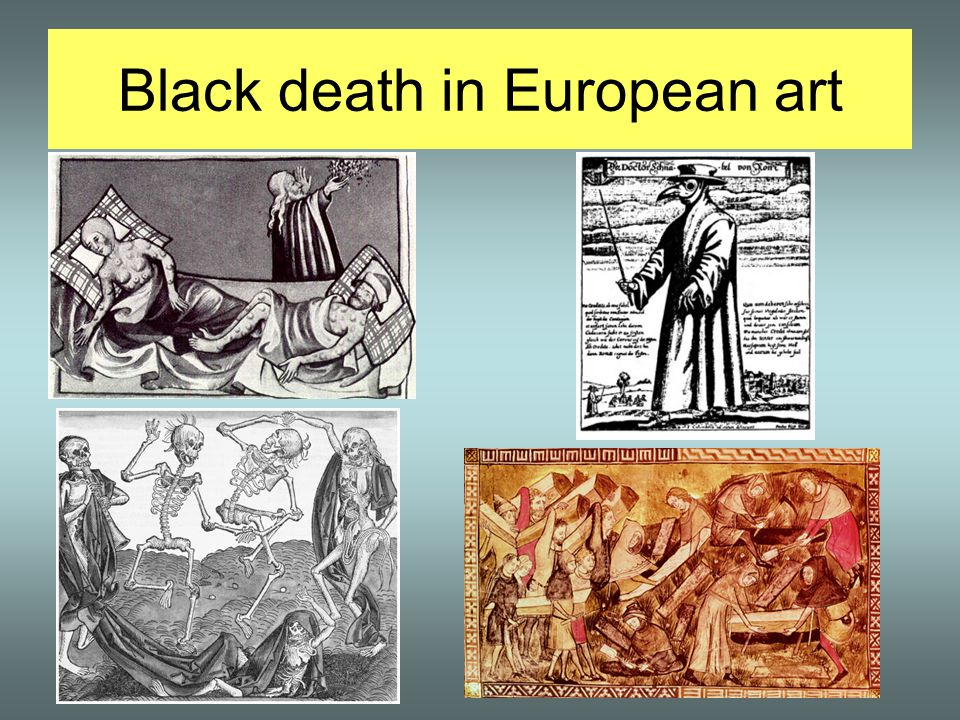 Black death in European art