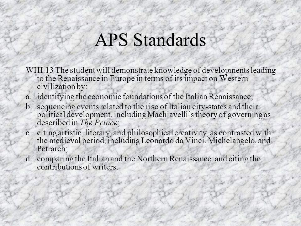 APS Standards