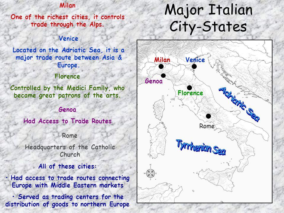 Major Italian City-States