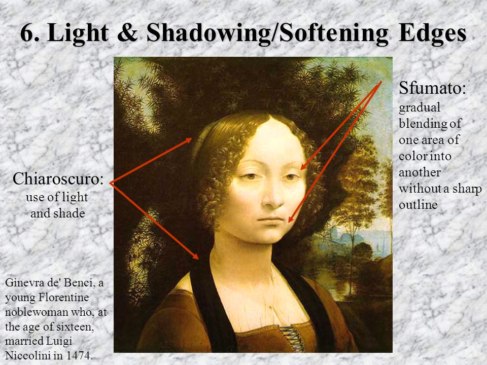 6. Light & Shadowing/Softening Edges
