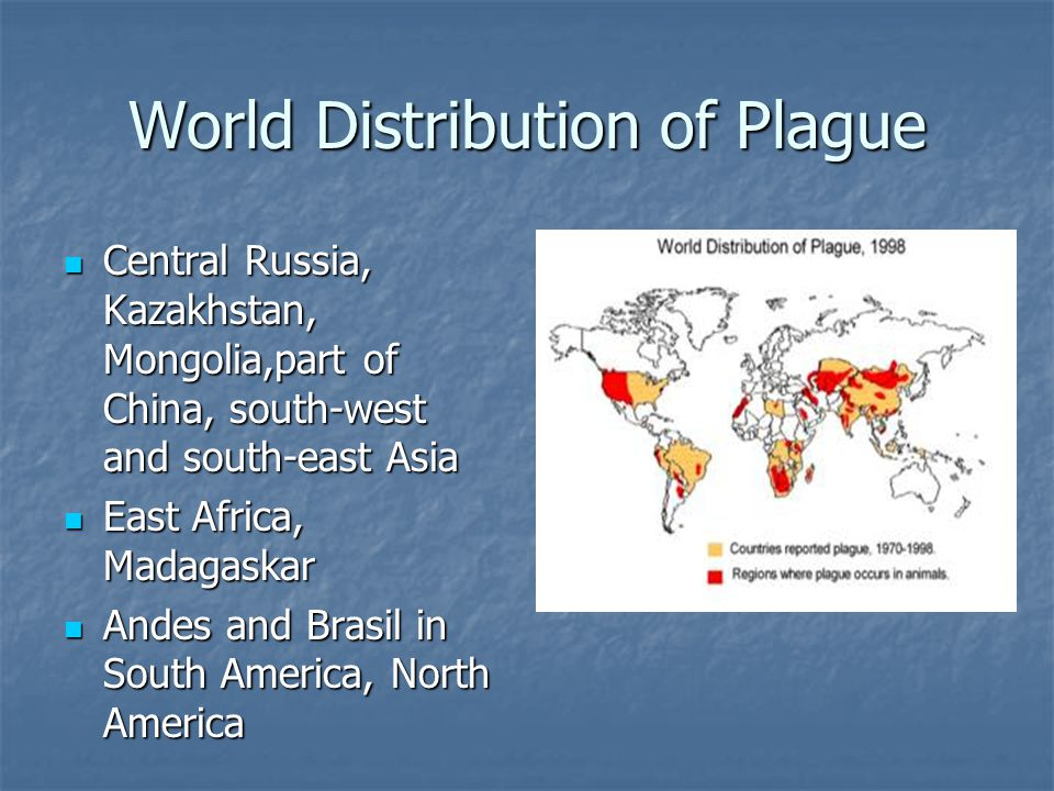 World Distribution of Plague