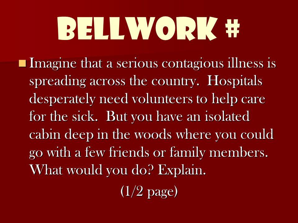 Bellwork #