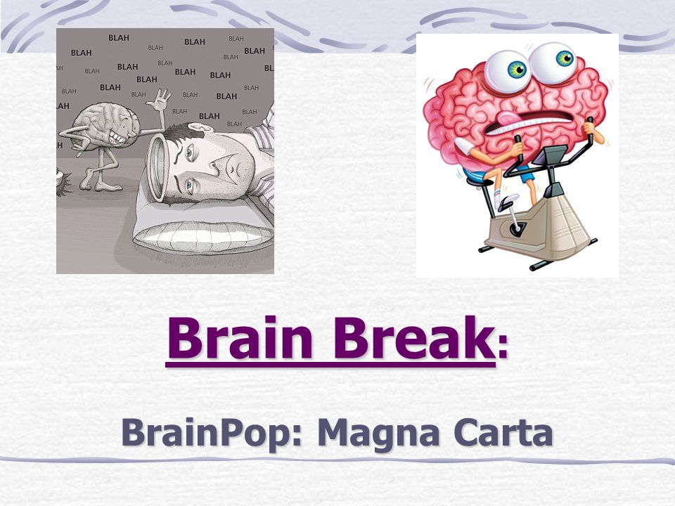 Brain Break: BrainPop: Magna Carta