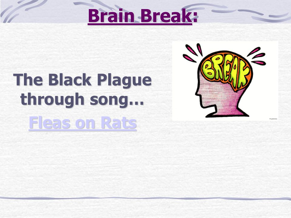 The Black Plague through song… Fleas on Rats