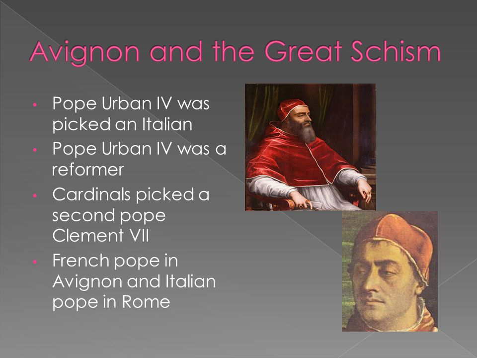 Avignon and the Great Schism