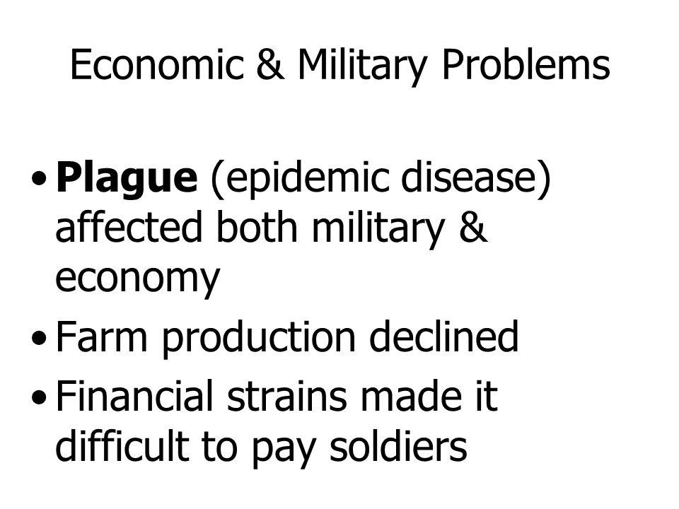 Economic & Military Problems