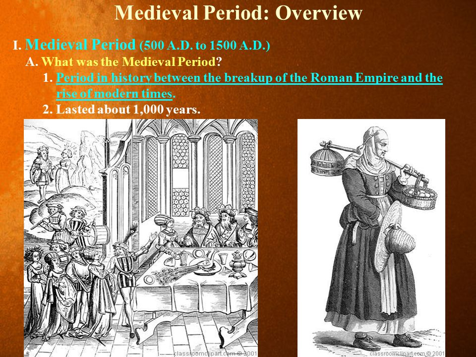 A Brief Summary of the Middle Ages