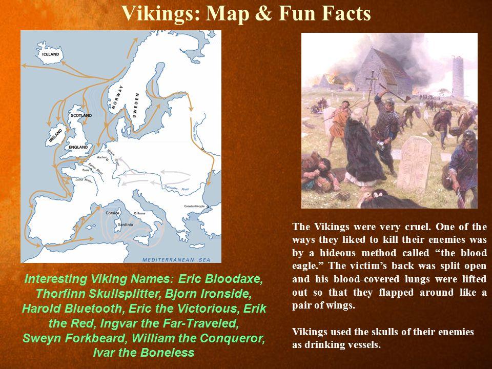Vikings: Map & Fun Facts