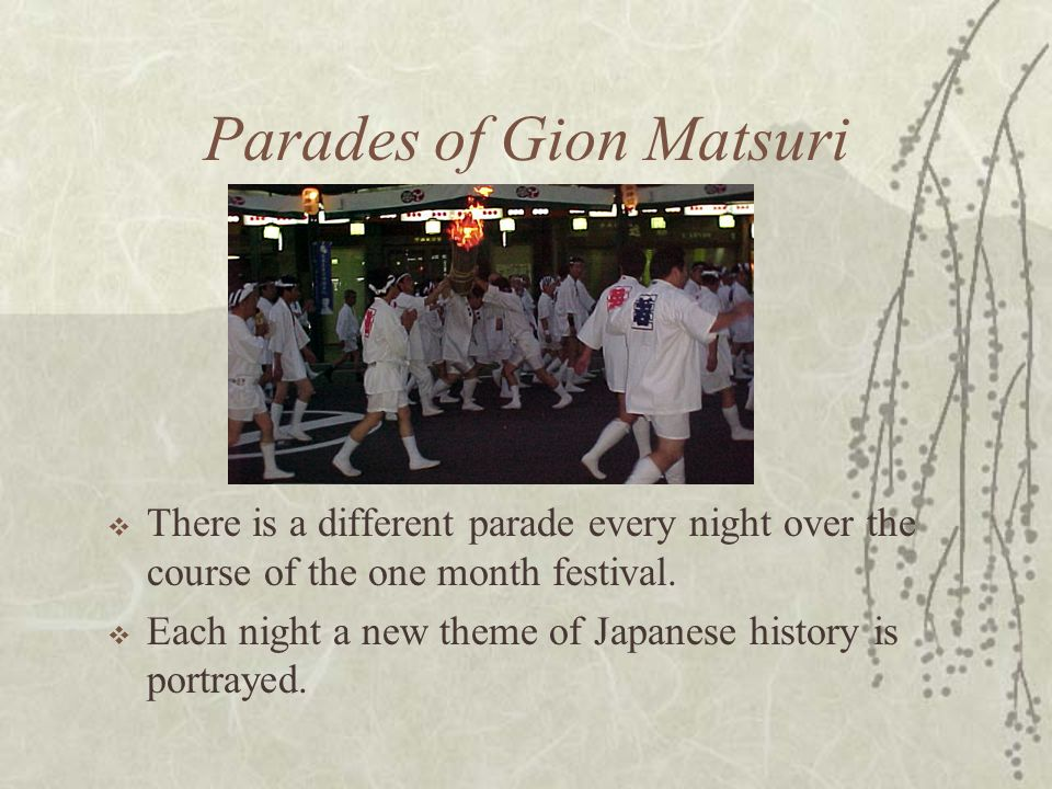 Parades of Gion Matsuri