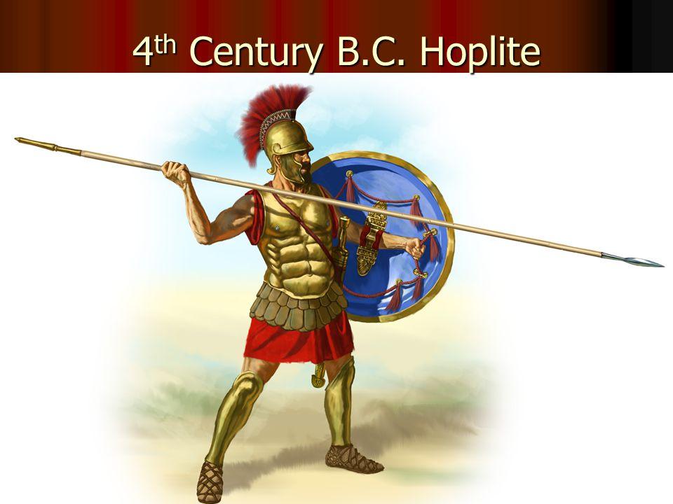4th Century B.C. Hoplite