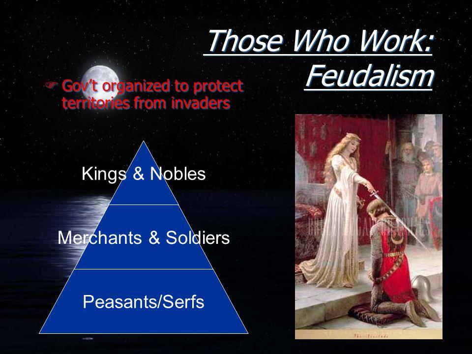 Those Who Work: Feudalism