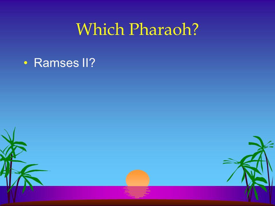 Which Pharaoh Ramses II