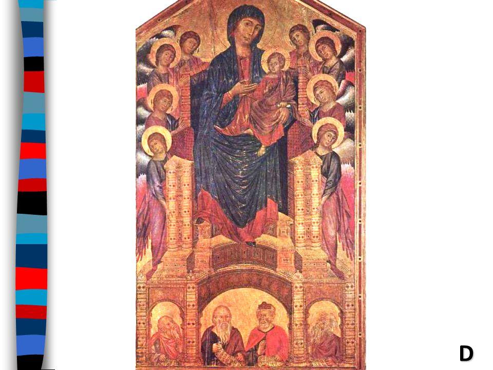 Cimebue—(Maesta of St. Trinesta)