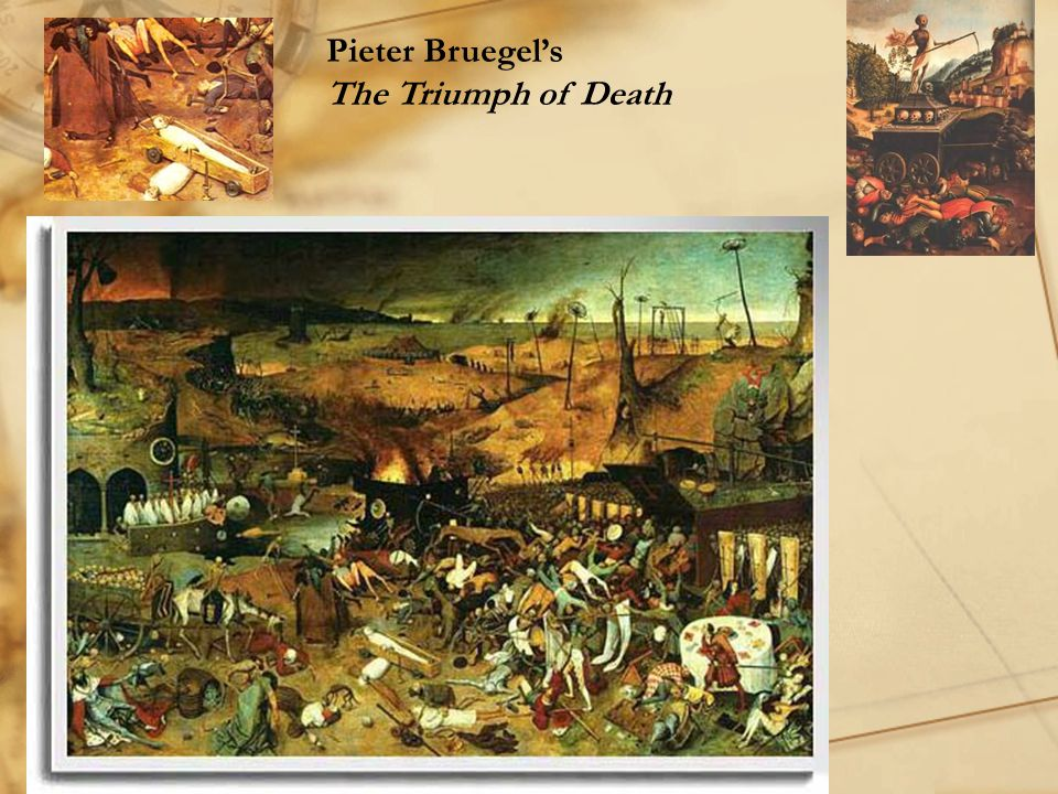Pieter Bruegel's The Triumph of Death