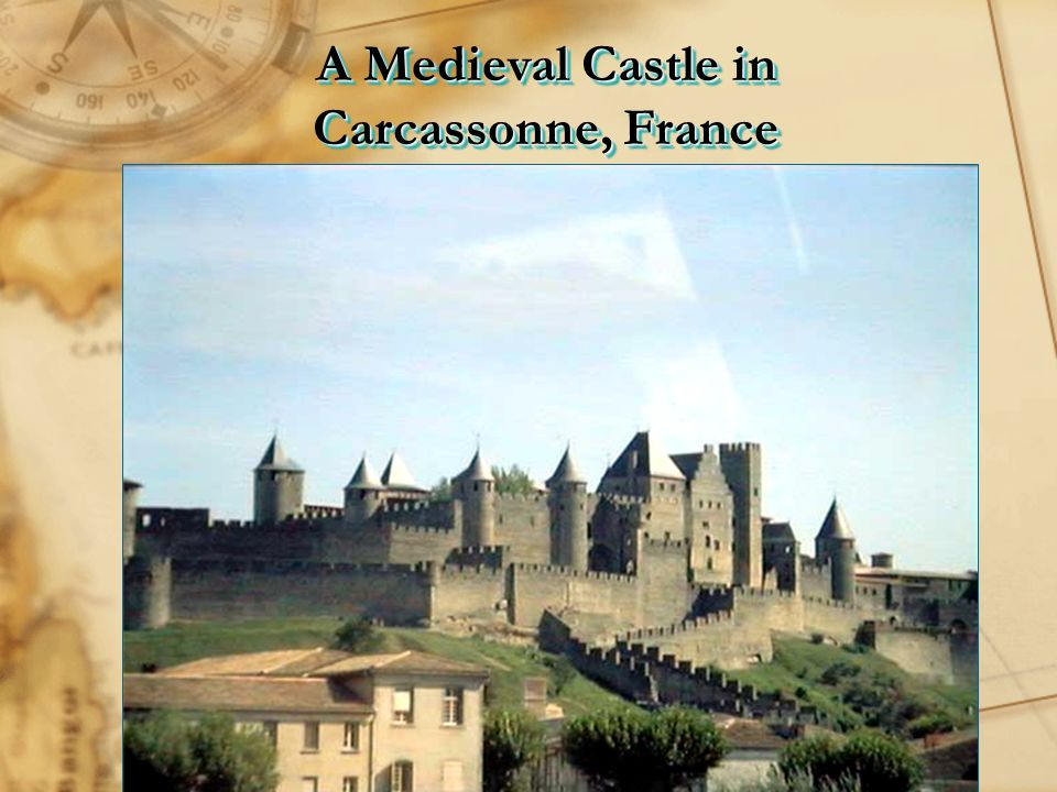 A Medieval Castle in Carcassonne, France