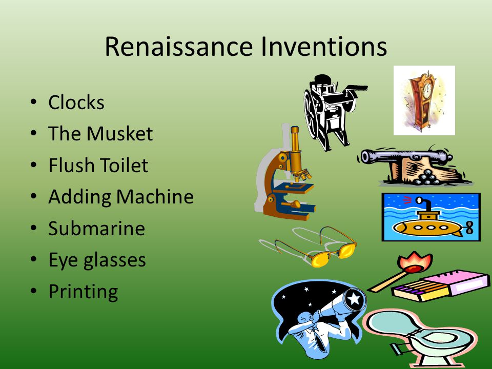 Renaissance Inventions