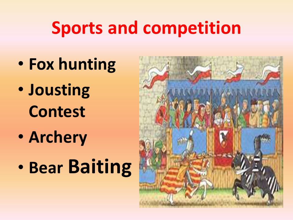 Sports and competition