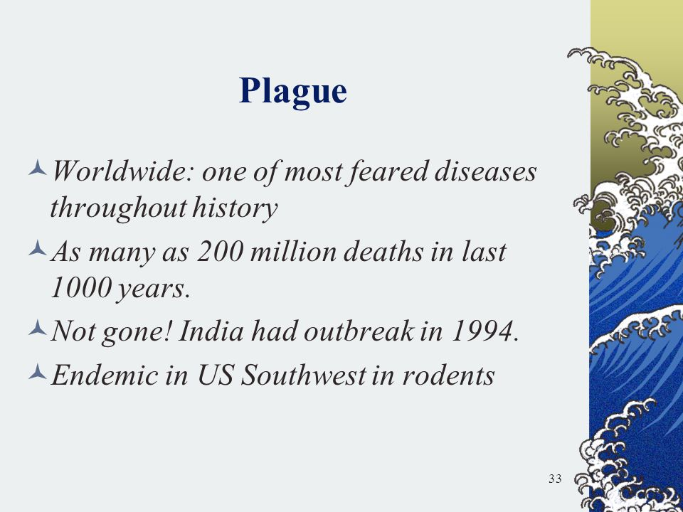 Plague Worldwide: one of most feared diseases throughout history
