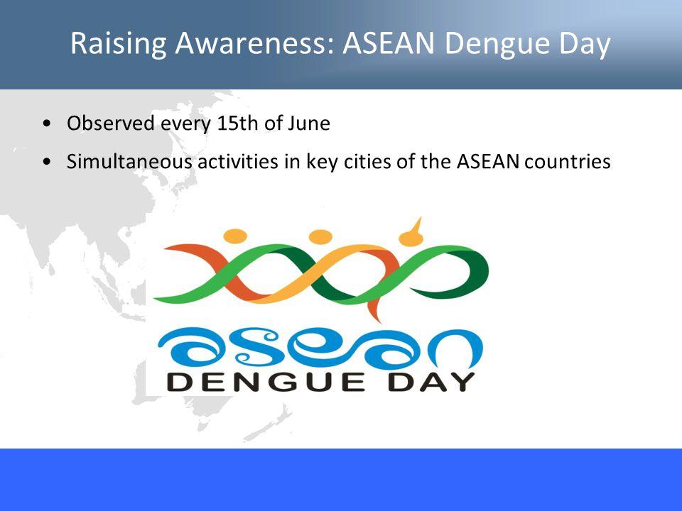 Raising Awareness: ASEAN Dengue Day