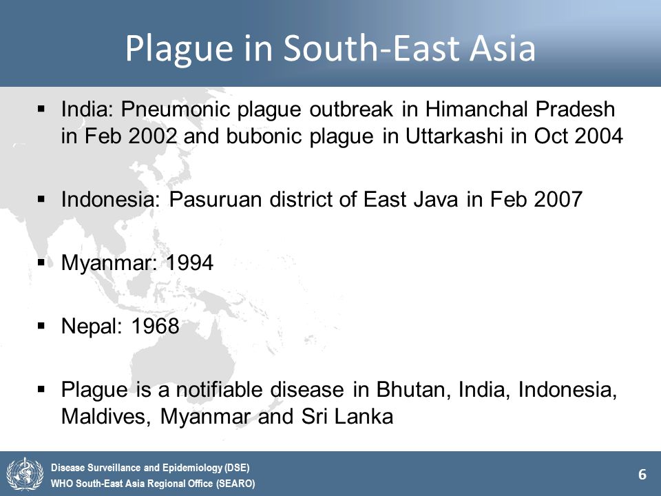 Plague in South-East Asia