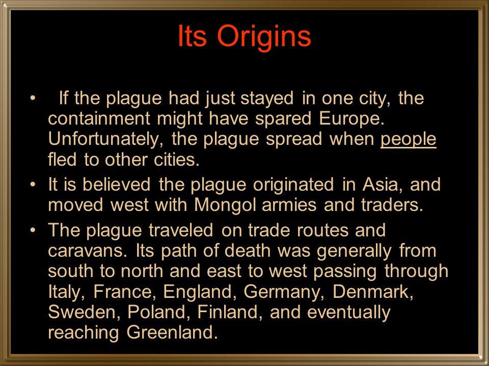 Its Origins