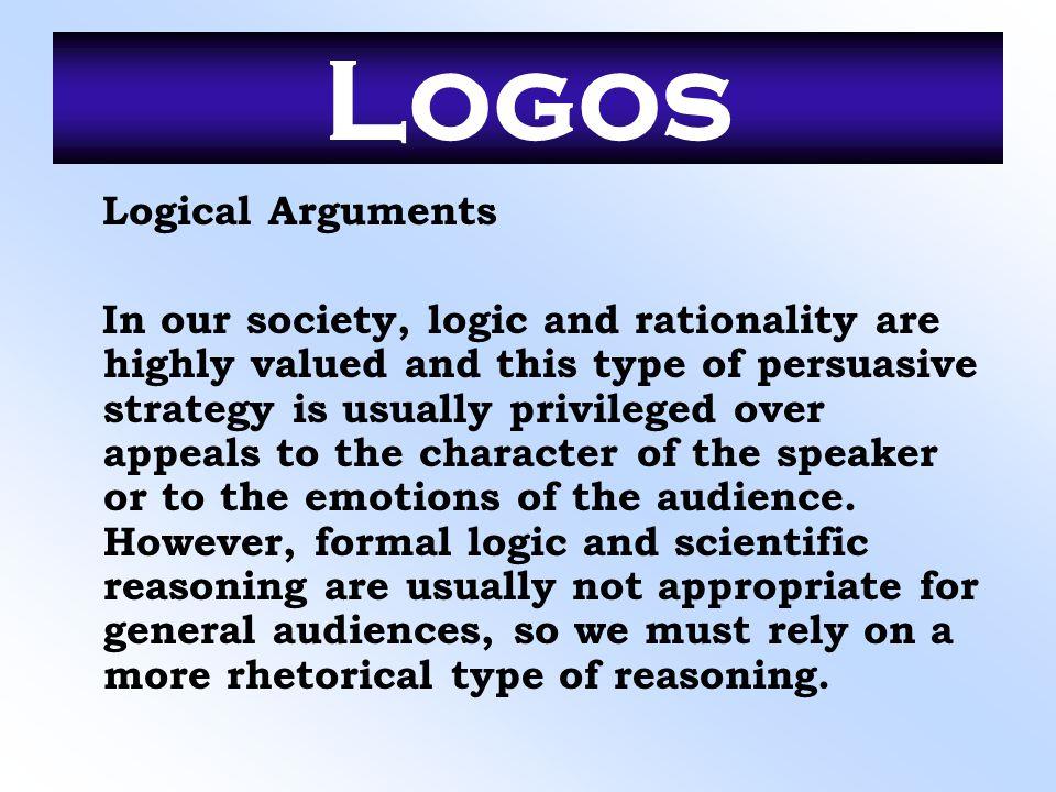 Logos Logical Arguments