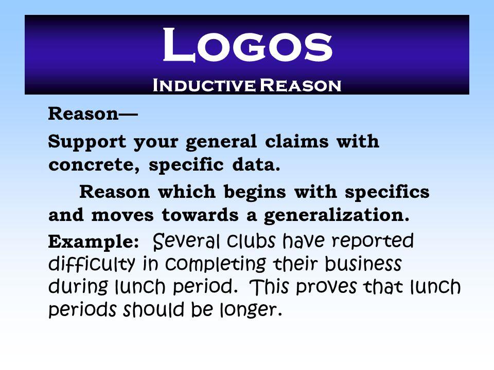 Logos Inductive Reason