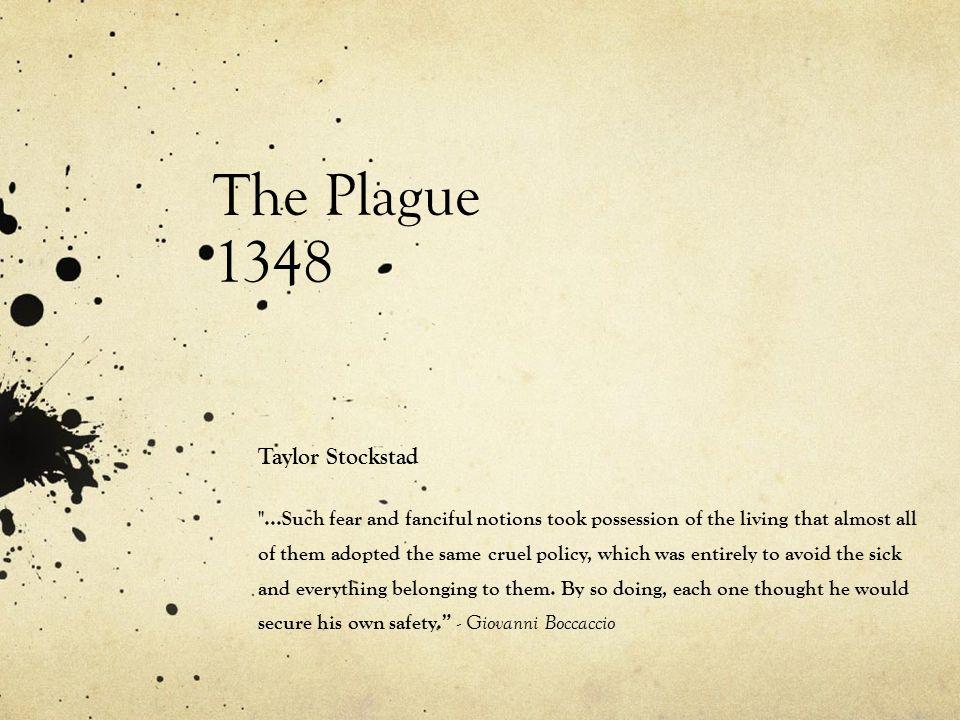 The Plague 1348 Taylor Stockstad