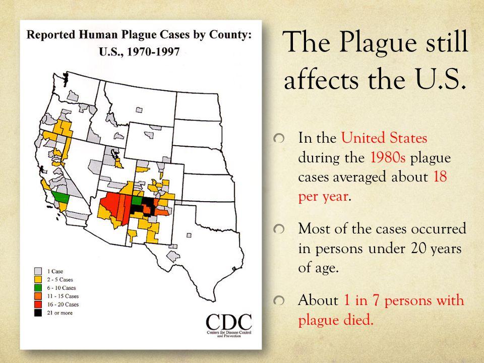 The Plague still affects the U.S.