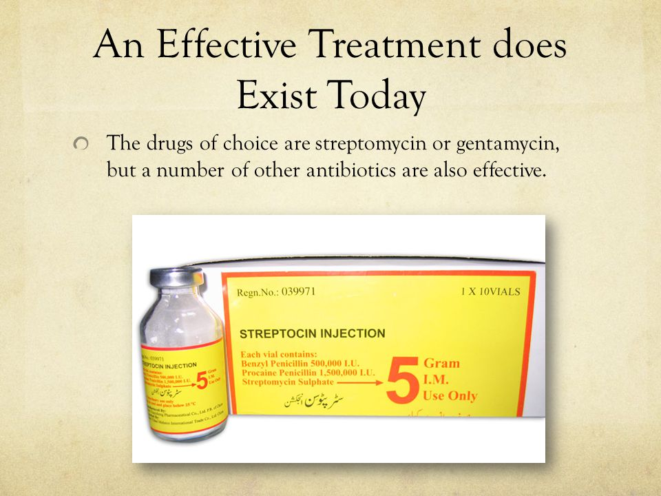 An Effective Treatment does Exist Today