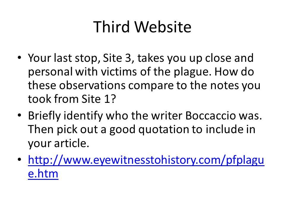 Third Website