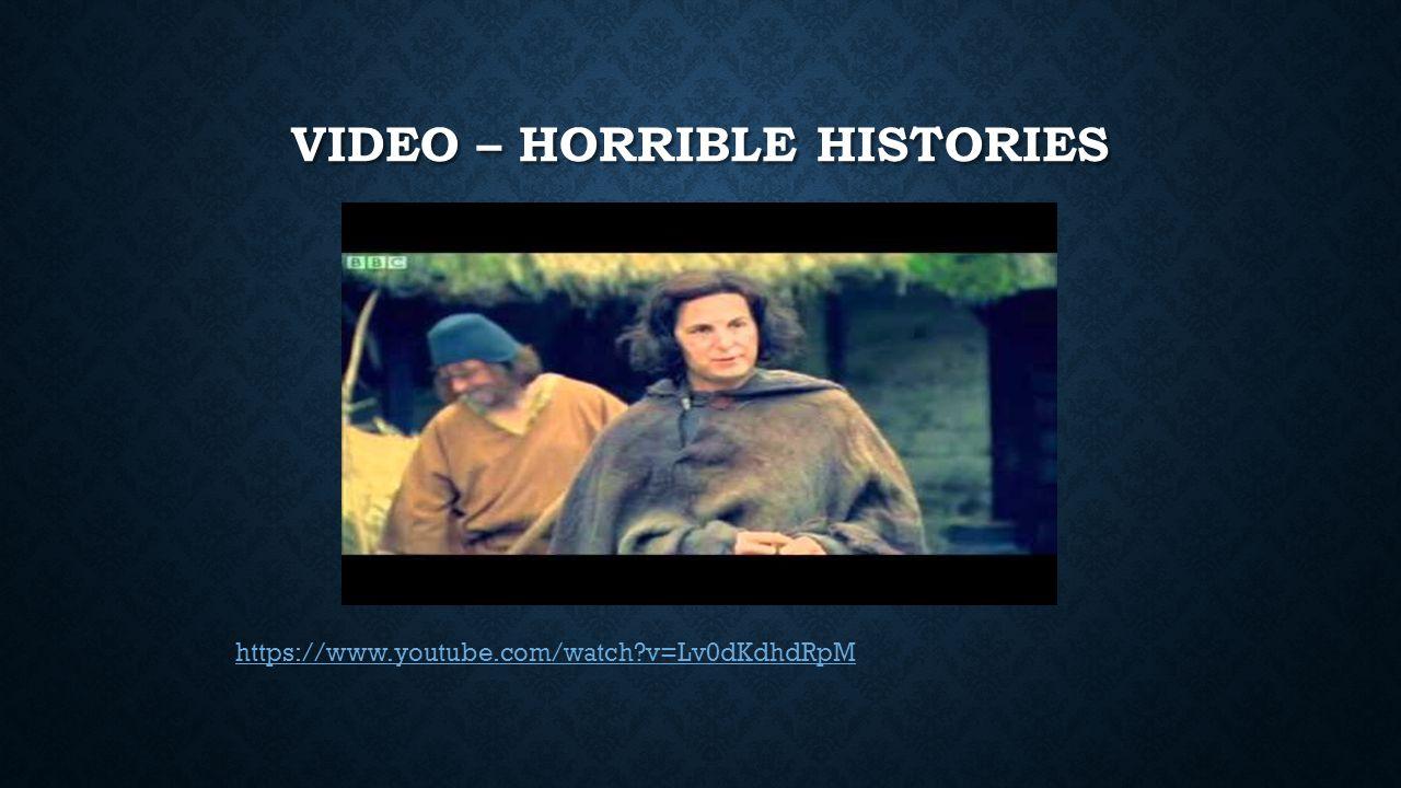 Video – horrible histories